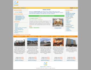 astana-hotels.net screenshot