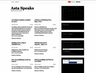 astaspeaks.wordpress.com screenshot