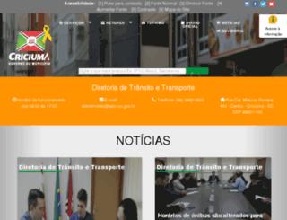 astc.sc.gov.br screenshot