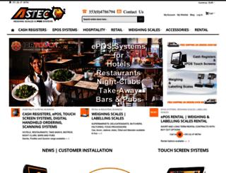 astecpos.ie screenshot
