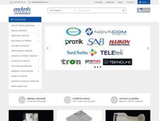 astekteknoloji.com screenshot