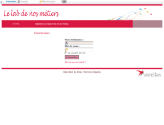 astellas7.myworkingcommunity.com screenshot