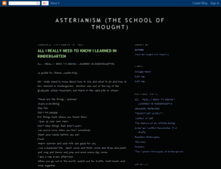 asterianism.blogspot.com screenshot