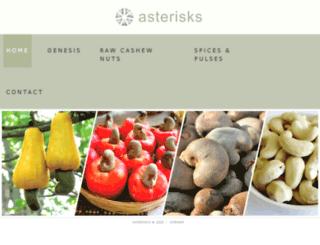 asterisks.world screenshot