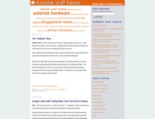 asteriskvoipnews.com screenshot