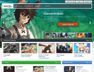 asterix-et-ses-amis.browsergames.fr screenshot