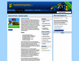 asterix-und-friends.kostenlosspielen.net screenshot