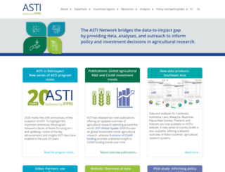 asti.cgiar.org screenshot
