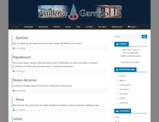 astillerosgarrido.com screenshot