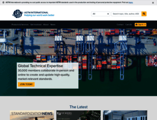 astm.org screenshot