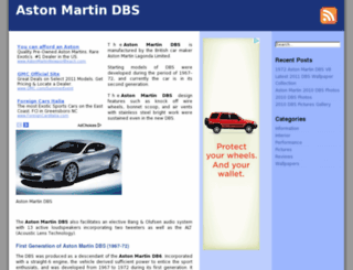 aston-martin-dbs.com screenshot