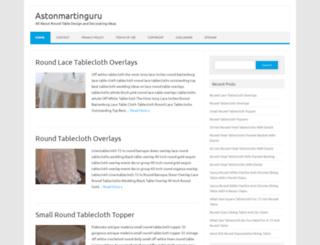 astonmartinguru.com screenshot