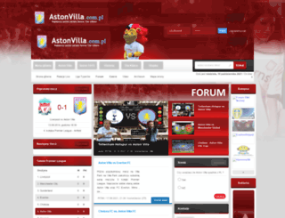 astonvilla.com.pl screenshot