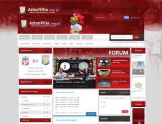 astonvilla.com.pl screenshot