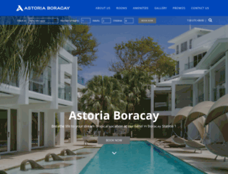astoriaboracay.com screenshot