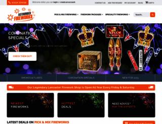 astoundedfireworks.com screenshot
