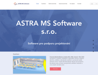astrasw.cz screenshot