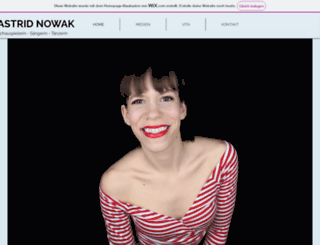 astridnowak.at screenshot