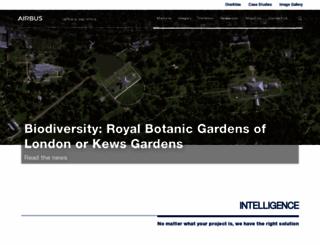 astrium-geo.com screenshot