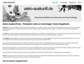 astro-auskunft.de screenshot