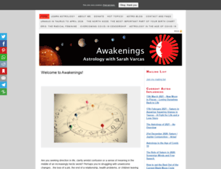 astro-awakenings.co.uk screenshot