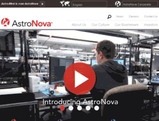 astro-medinc.com screenshot