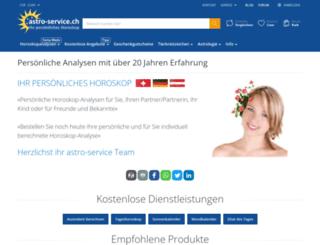 astro-service.ch screenshot