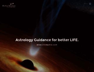 astro-vision.com screenshot