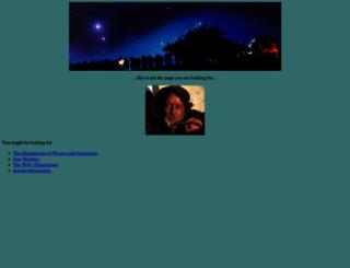 astro.wsu.edu screenshot