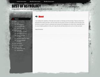 astrobox.wordpress.com screenshot