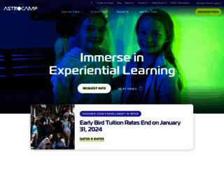 astrocamp.org screenshot
