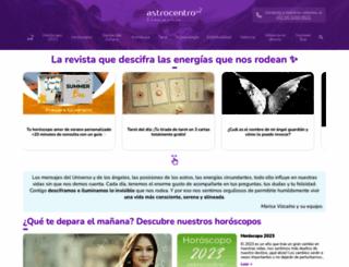 astrocentro.com screenshot