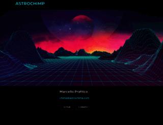astrochimp.com screenshot