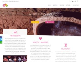 astrodarshan.com screenshot