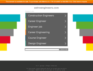 astroengineers.com screenshot