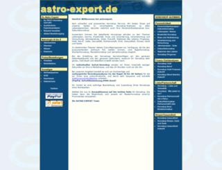 astroexpert.de screenshot