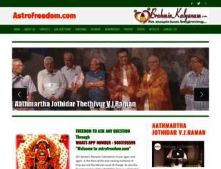 astrofreedom.com screenshot