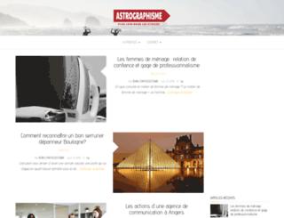 astrographisme.com screenshot