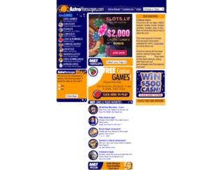 astrohoroscopes.com screenshot