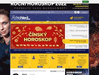 astrolinka.cz screenshot