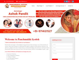 astrologerpanchmukhijyotish.com screenshot
