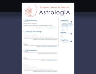 astrologiagregorio.wordpress.com screenshot