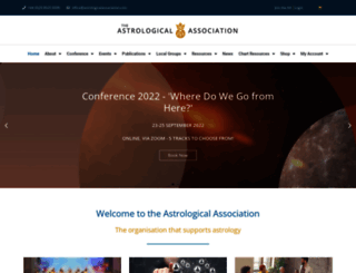 astrologicalassociation.com screenshot