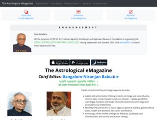 astrologicalmagazine.com screenshot
