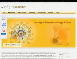 astrologicalremediesonline.com screenshot