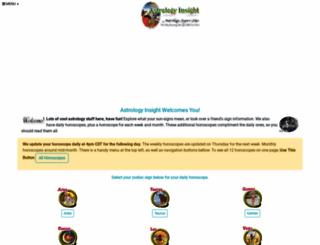 astrology-insight.com screenshot