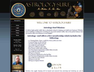 astrology-surf.com screenshot