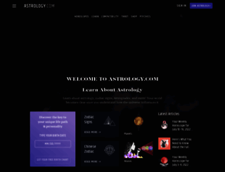 astrology.com screenshot