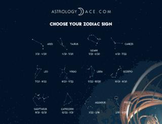 astrologyace.com screenshot