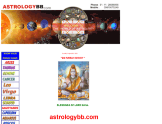 astrologybb.com screenshot